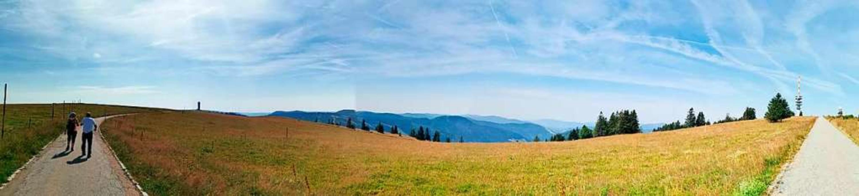 Feldberg am Laurentiustag im Corona-Ja...tel der Blick auf einen leeren  Berg.   | Foto: Achim Laber