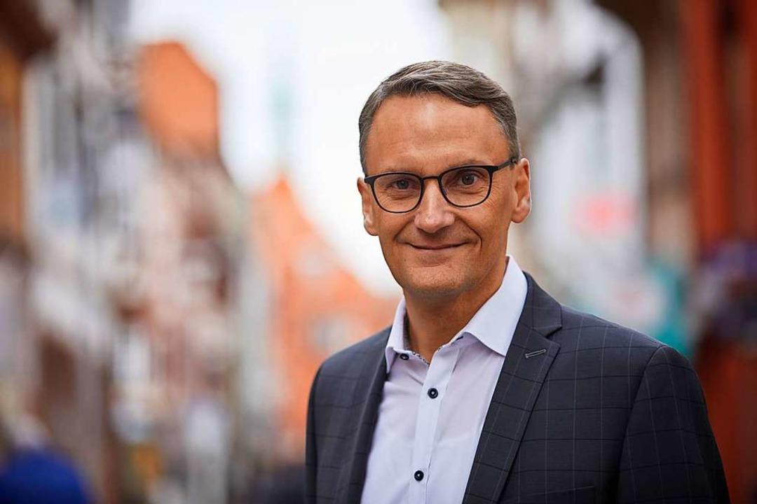 Lahrs Oberbürgermeister Markus Ibert  | Foto: Stadt Lahr