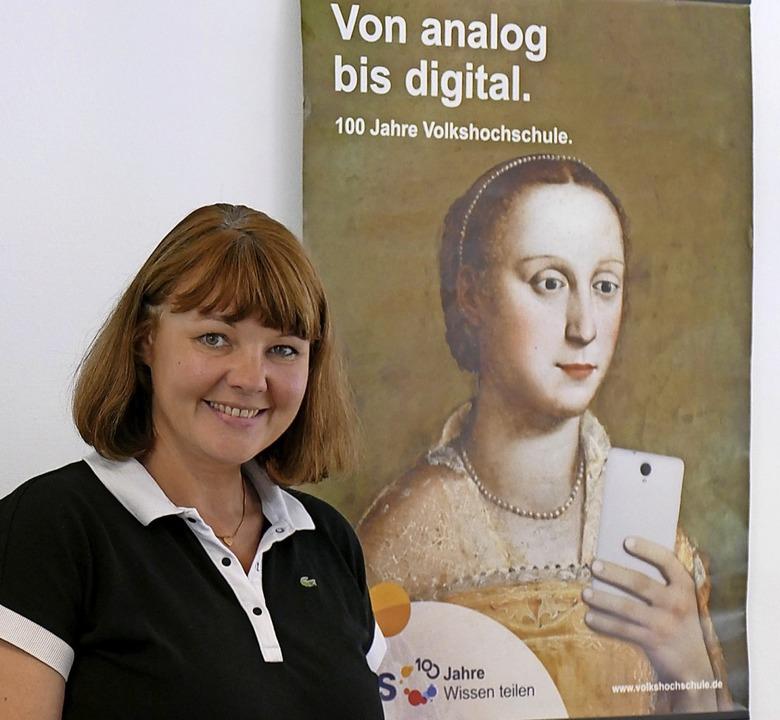 Stephanie Schick, Leiterin der VHS-Abendrealschule  | Foto: Marius Alexander