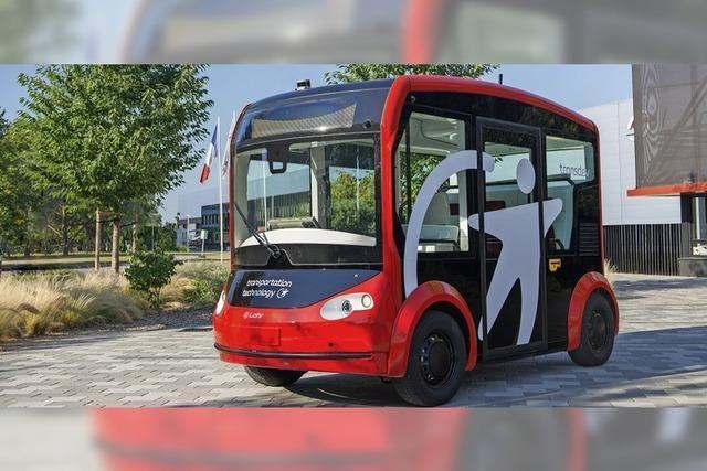 Fahrerlos mit dem Bus durch den Ort?