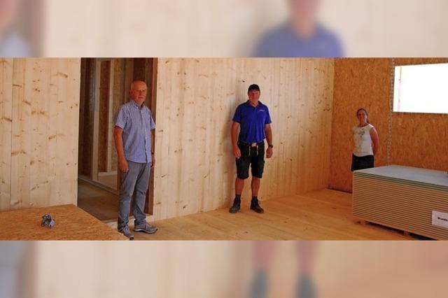 Gesundes Wohnen in mehrgeschossigem Holzhaus