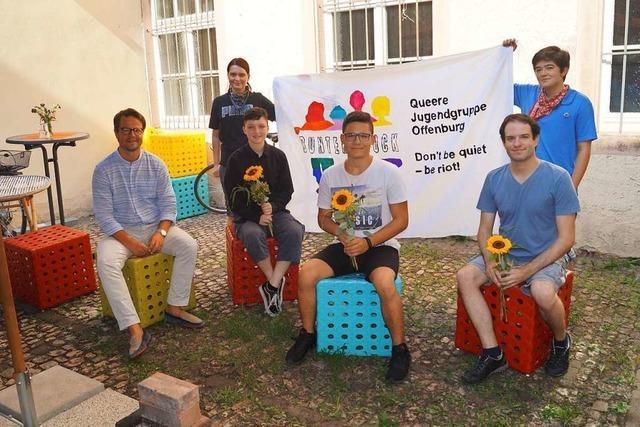 Jugendgruppe Bunter Block kämpft in Offenburg für ein Leben ohne Diskriminierung