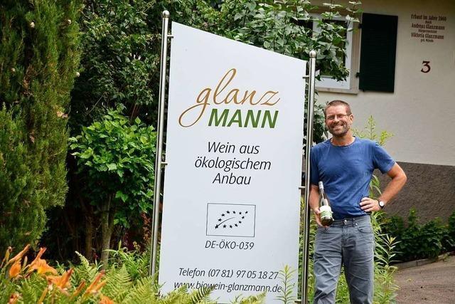 Alexander Spinner-Glanzmann hat sich den Traum vom Öko-Weingut erfüllt