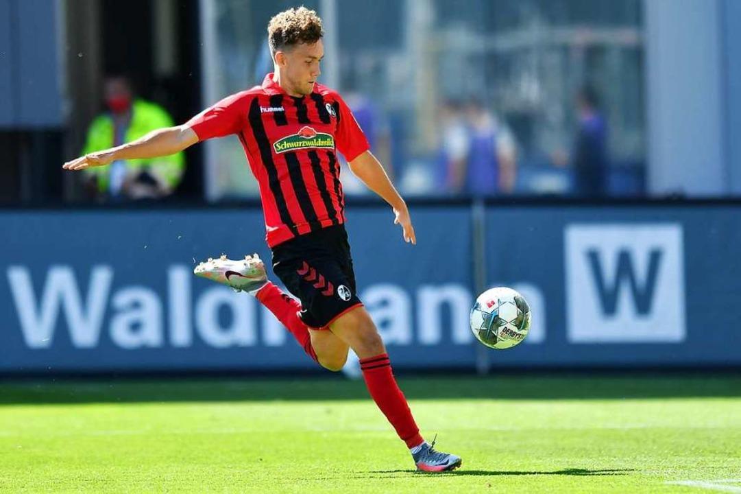 Ob Luca Waldschmidt eine weitere Saiso... Freiburg auflaufen wird, es ungewiss.  | Foto: Achim Keller/SCFreiburg