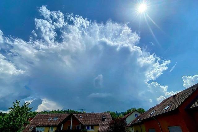 Hochsommerwetter bringt erste Gewitter in den Schwarzwald
