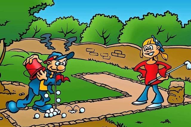 50 Prozent sparen beim Adventure Mini.Golf.Park in Oberharmersbach