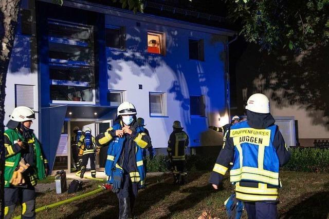 Brand in einem Kinderzimmer löste Feuerwehreinsatz in Auggen aus