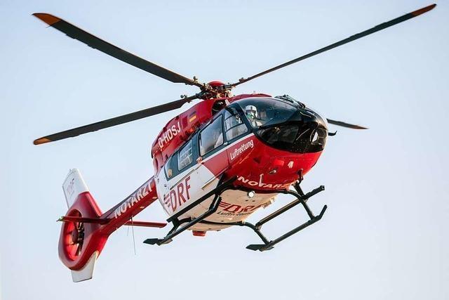In Schliengen ist ein Pedelec-Fahrer gestürzt und hat sich schwer verletzt