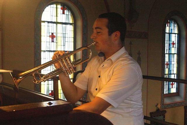 Abiturient spielt sechs Instrumente – einige auch mal gleichzeitig