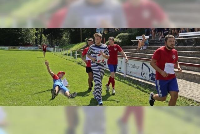 Rennen für den Sportverein