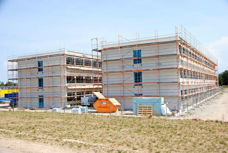 Das ist die neue Firmenzentrale von SMP, die in Bötzingen entsteht.