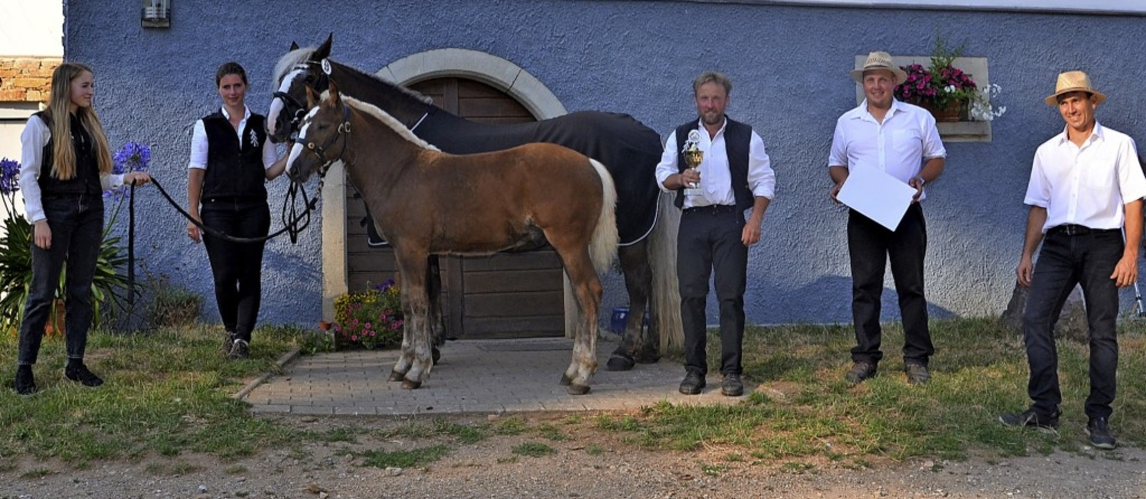 So sehen Sieger aus:  Hanna Rieder, Is...ins Mittlerer Schwarzwald (von links).  | Foto: Friedrich Stählin
