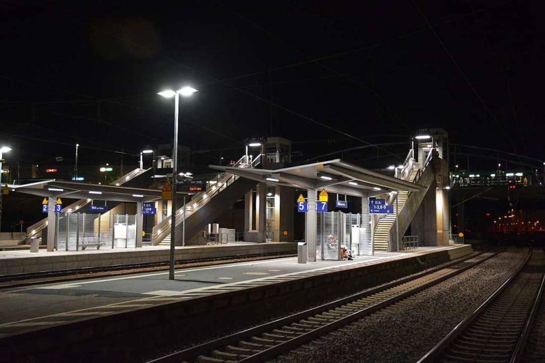 Morgens kann man am Bahnhof Weil am Rh...n Halt ist dann erst in Basel möglich.  | Foto: Hannes Lauber
