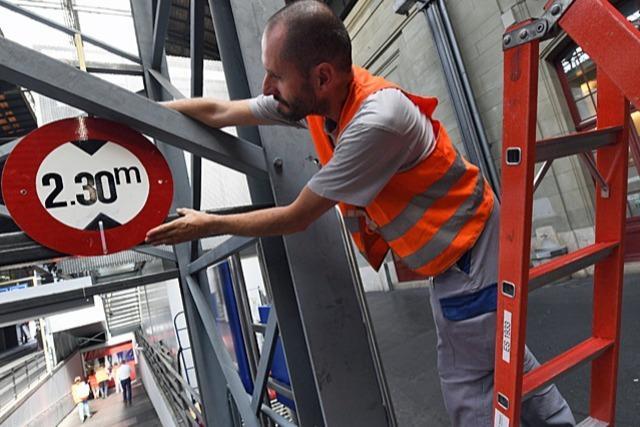 Der Basler Bahnhof SBB wird fit gemacht für die Zukunft
