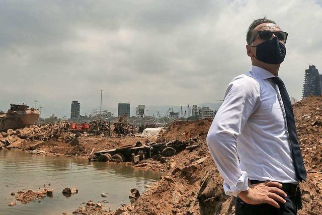 Bundesaußenminister Maas ruft Libanon zu Reformen auf