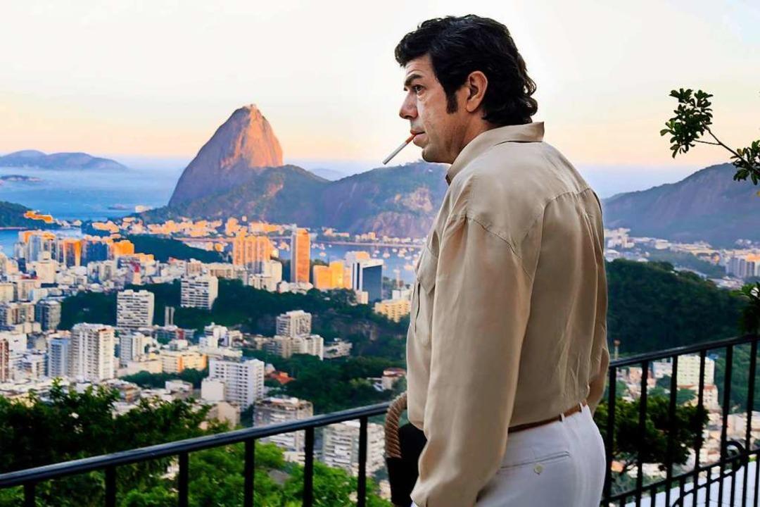 Ehrenmann? Tommaso Buscetta (Pierfrancesco Favino) im Exil in Brasilien  | Foto: Lia Pasqualino / Pandora Film