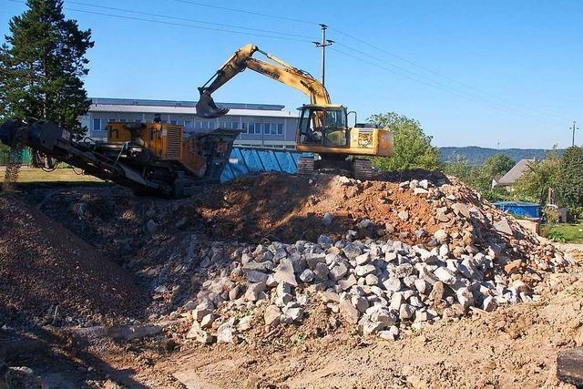 Die alte Schule in Adelhausen ist abgerissen worden