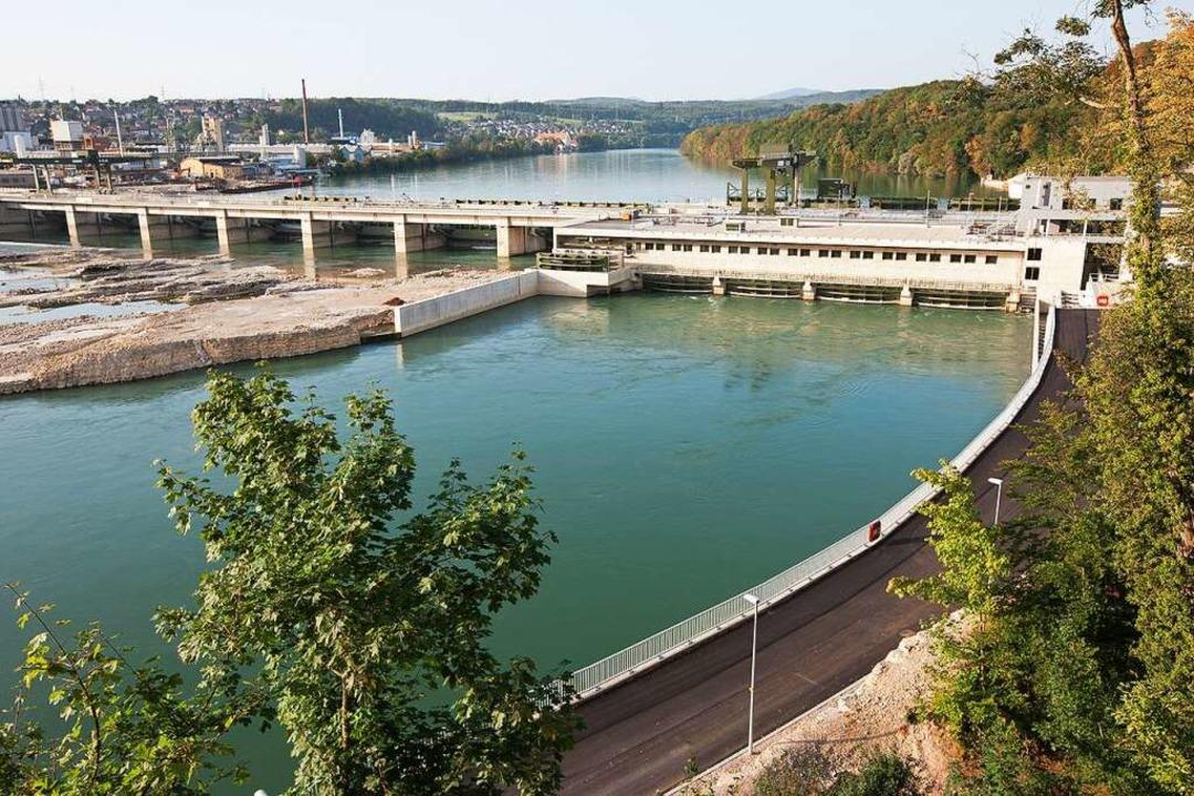 Das Wasserkraftwerk in Rheinfelden  | Foto: www.rolandhorn.de