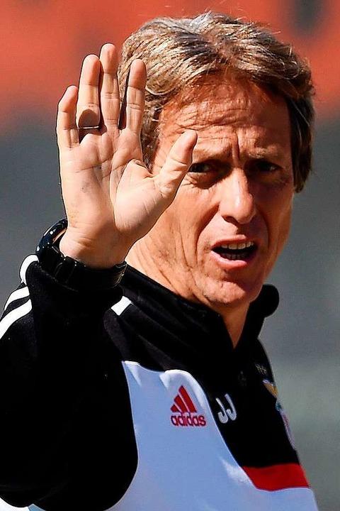 Waldschmidt-Fan: Benfica-Coach Jorge Jesus  | Foto: FRANCISCO LEONG