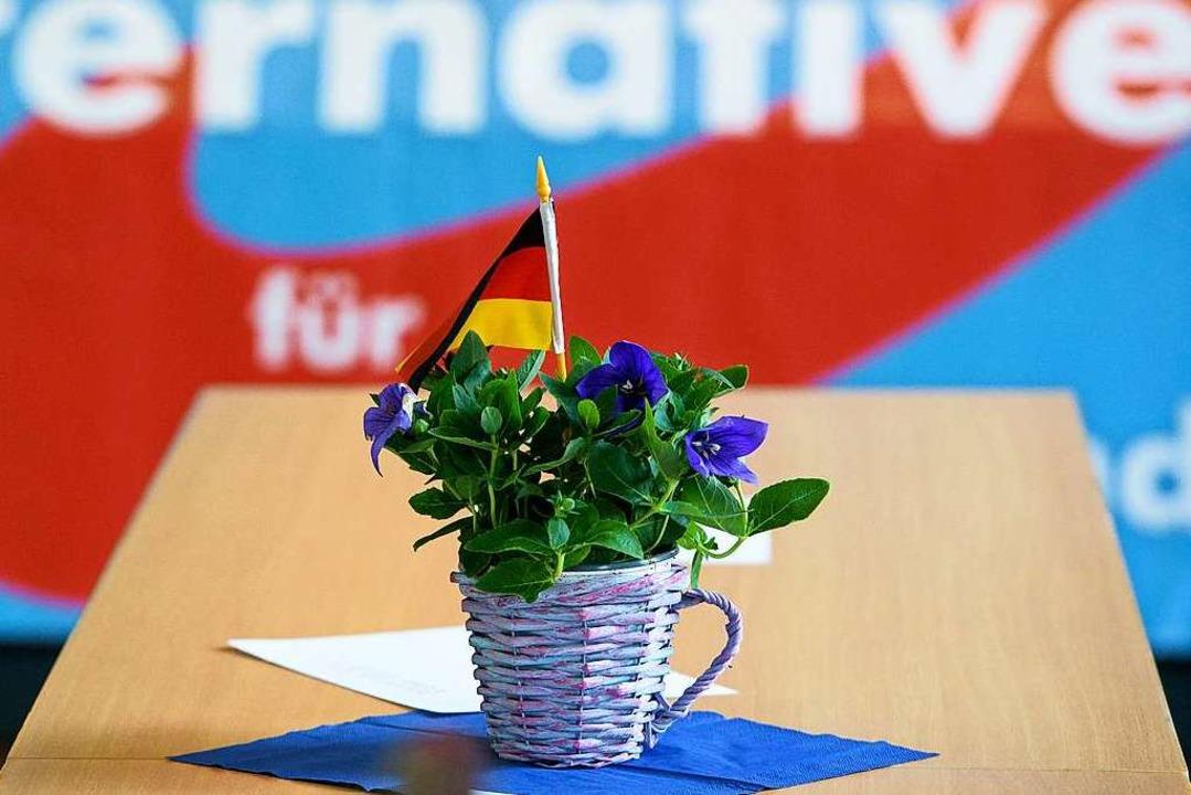 Flügelkämpfe der Partei  | Foto: Oliver Dietze (dpa)