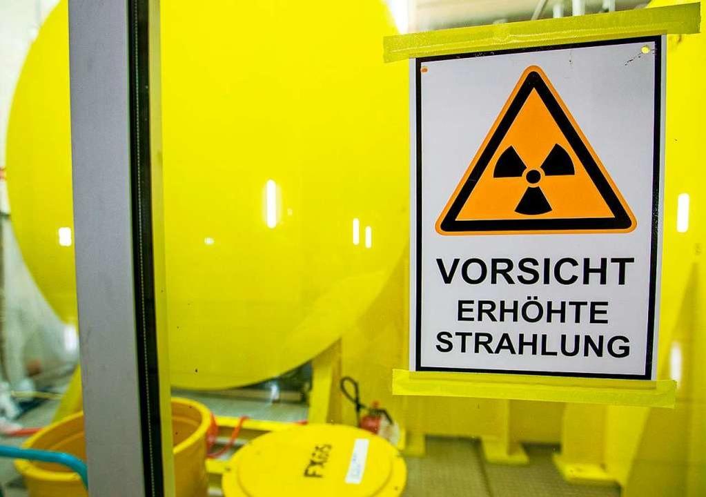 Strahlendes Metall aus ganz Frankreich...ssenheim gebracht werden (Symbolbild).  | Foto: Jens Büttner