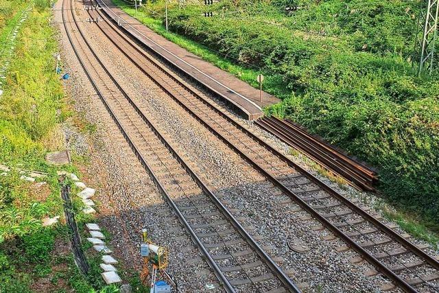 Umkirch will den Bahnausbau im Auge behalten