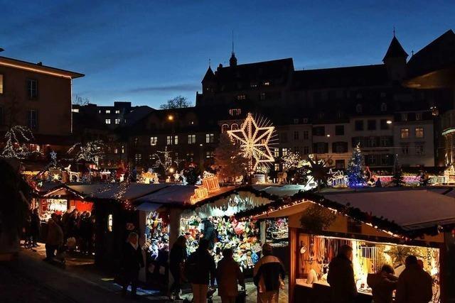 Basler Weihnachtsmarkt soll dieses Jahr trotz Corona stattfinden