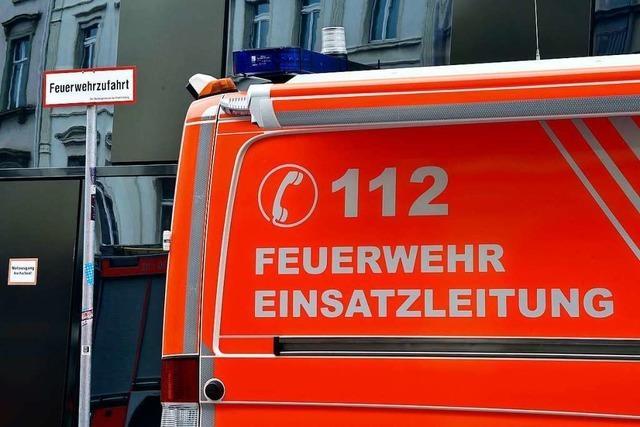 Gas-Alarm im Freiburger Sedanviertel