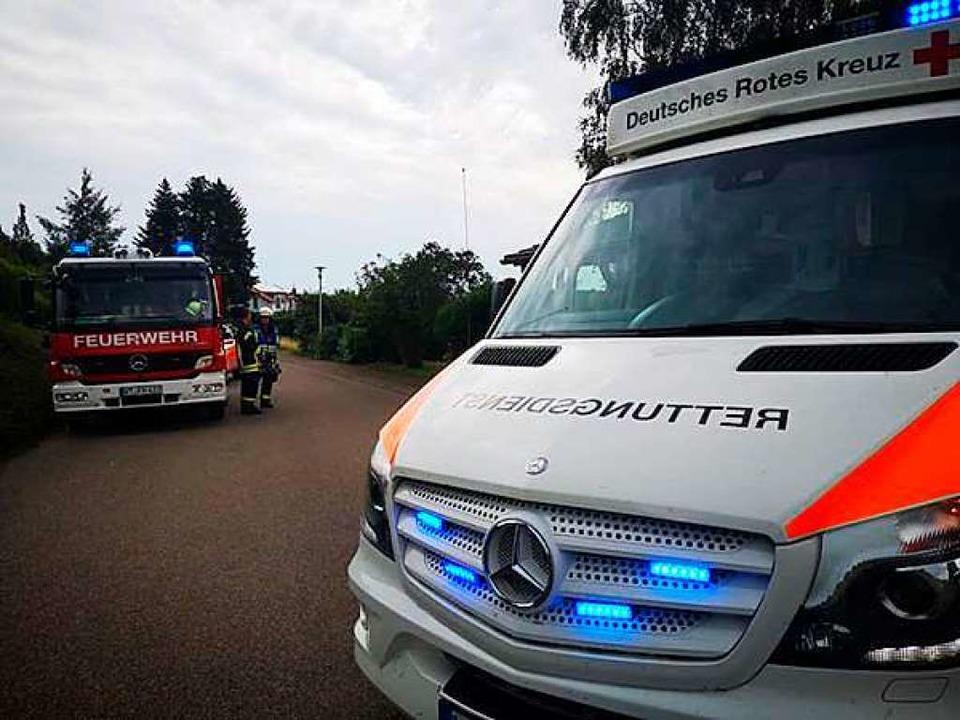 Feuerwehr, Rettungsdienst und Polizei ...ühen Donnerstag in Oberhof im Einsatz.  | Foto: Feuerwehr Murg