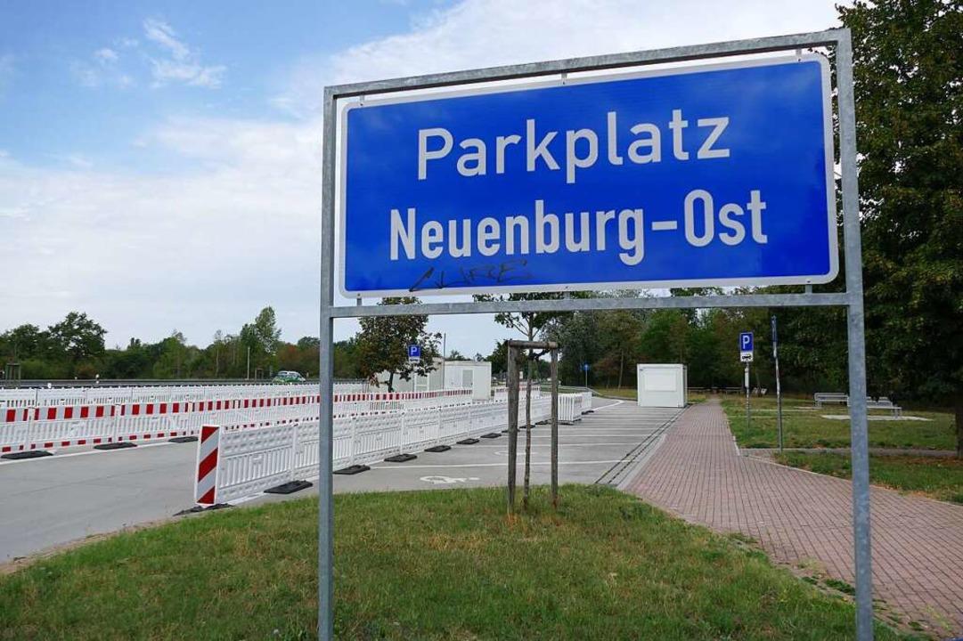 Parkplatz Neuenburg Ost