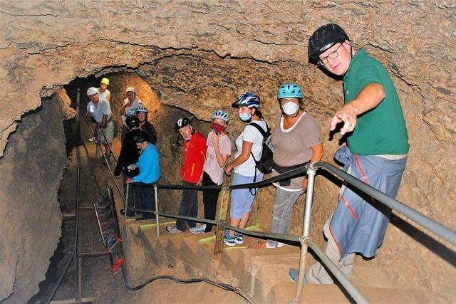 Ein Cooler Ausflug in die Erdgeschichte in der Tschamberhöhle
