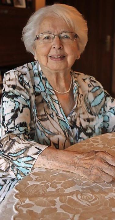 Lore Fronemann-End ist 90 Jahre alte geworden.   | Foto: gabriel
