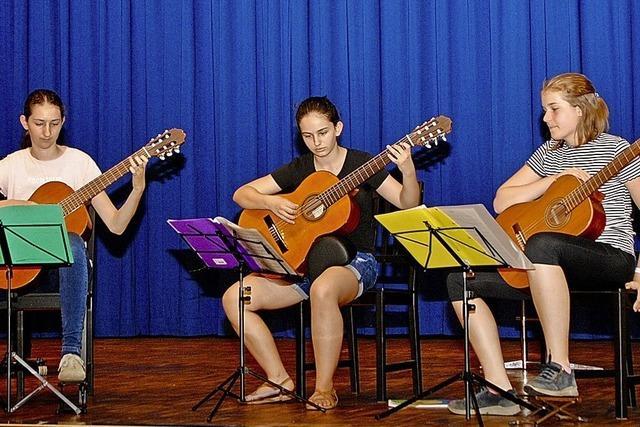 Junge Musiker kehren auf die Bühne zurück