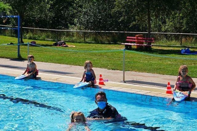 In Neustadt finden trotz Corona Schwimmkurse statt