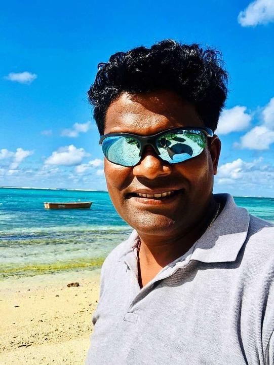 Tauchlehrer Mukesh Buldewa  | Foto: Privat (dpa)