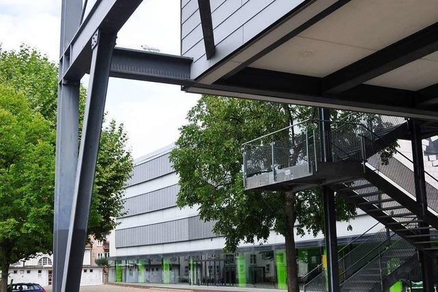 Das Hans-Thoma-Gymnasium in Lörrach soll einen Anbau bekommen