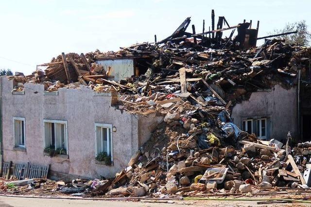 Hilfswelle für Brandopfer aus Bergalingen