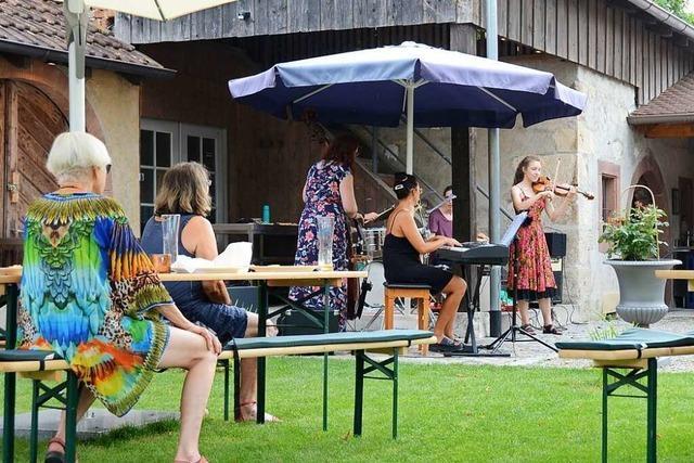 In Weil am Rhein gibt es ein kleines Sommerfestival