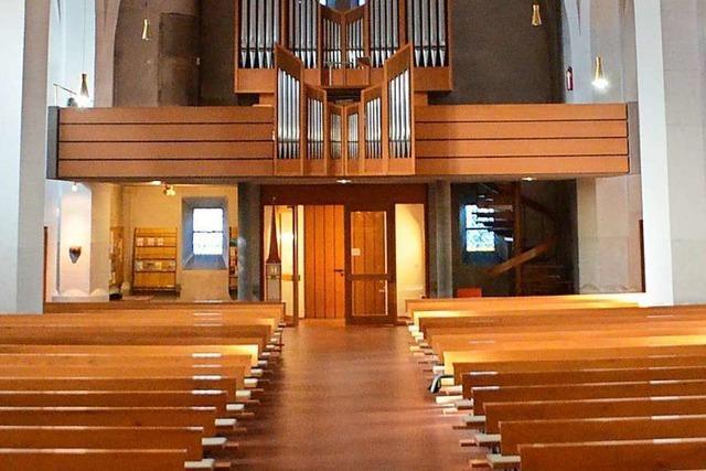 Wo die Pfarrkirche St. Georg steht, standen zuvor schon zwei andere Kirchen