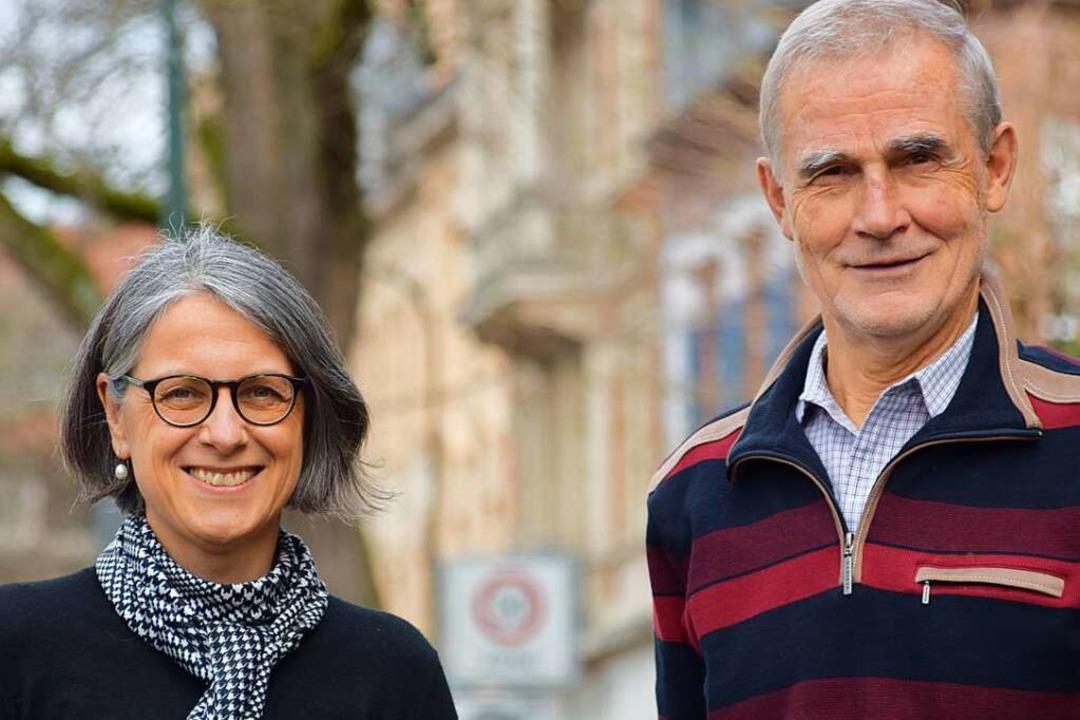 Die Freiburger Scheidungsanwälte Sylvia Jung und Helmut Graff  | Foto: Stefan Ammann