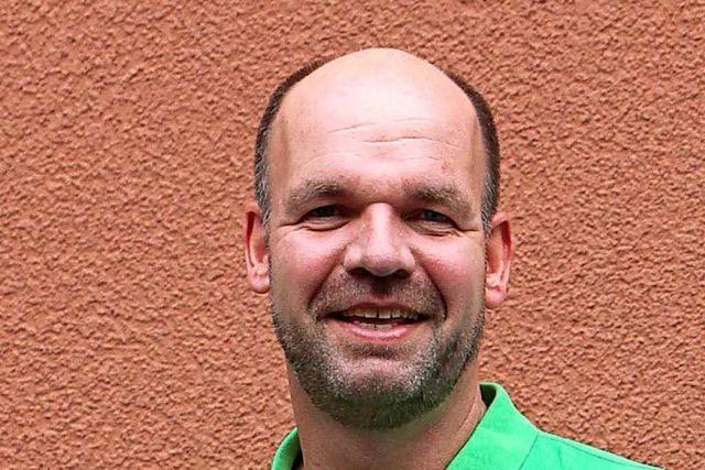 Markus Rasp will für die Grünen in den Bundestag