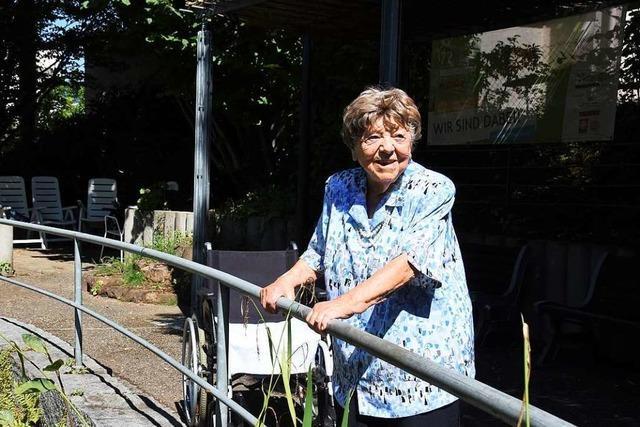 Mit 105 Jahren ist Hildegart Anhalt die älteste Bürgerin Gundelfingens