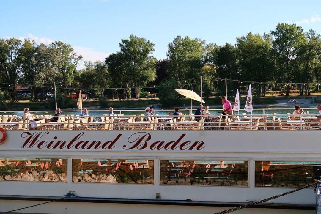Auf der Weinland Baden gibt es seit Mi...rabende auf dem Rhein genießen lassen.  | Foto: Christine Weirich