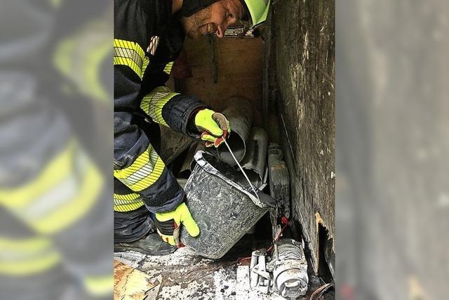 Feuerwehr rückte wegen Fahrzeugbrand aus