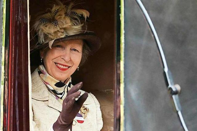 Die royale Reiterin: Prinzessin Anne feiert ihren 70. Geburtstag