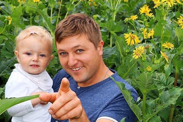 Bonndorfer Bauernfamilie setzt auf eine gelbblühende Energiepflanze