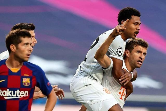 8:2 – FC Bayern demontiert Barcelona und steht im Halbfinale der Champions League