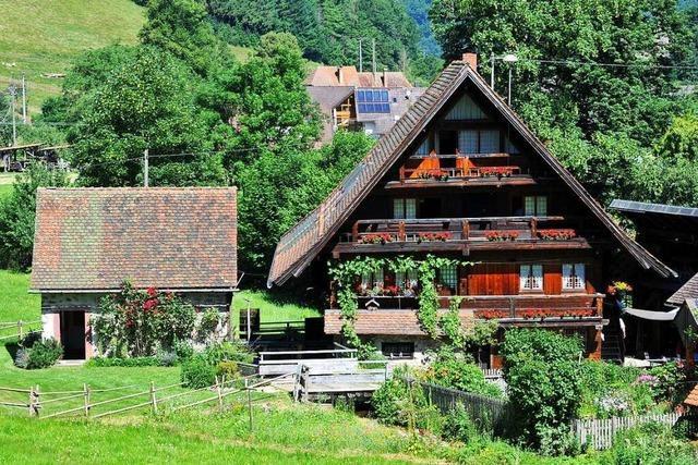 In Simonswald kann man Jahrhunderte alte Mühlen bestaunen