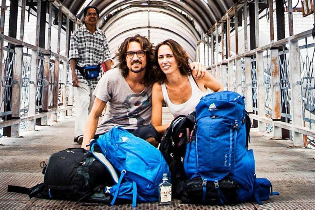 Josef (38) und Flora Weis (31), Welt-Entdecker mit Bodenhaftung    Foto: Bolly-Hood