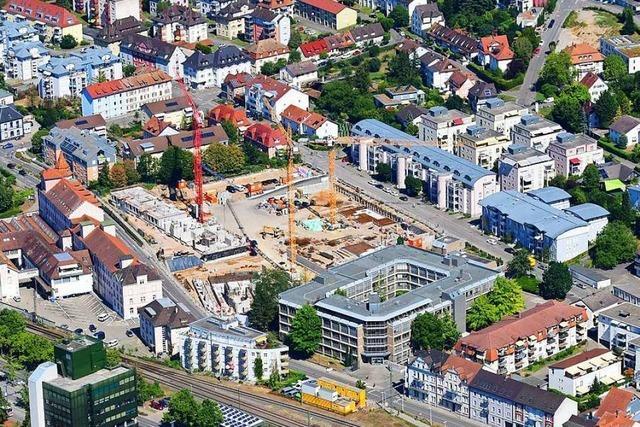 Satter Gewinn hilft Wohnbau Lörrach beim Bau von 300 Wohnungen